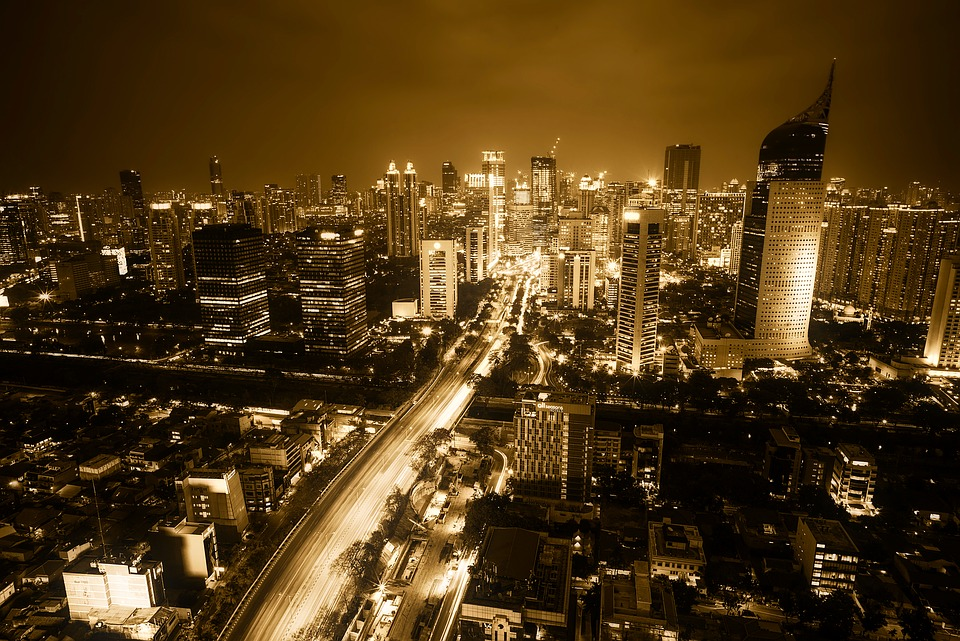 Jakarta, Indonesia, City, Urban, Cityscape, Downtown