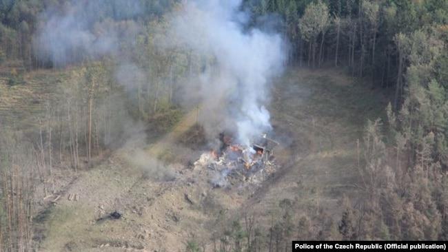 У смертельному вибуху на чеському складі в 2014 році Прага звинувачує російських агентів (фотогалерея)