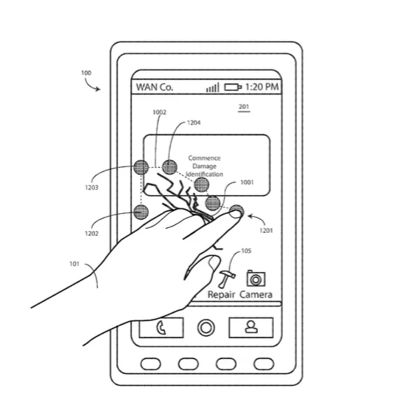 Motorola patented a display that can heal its own cracked screen with heat