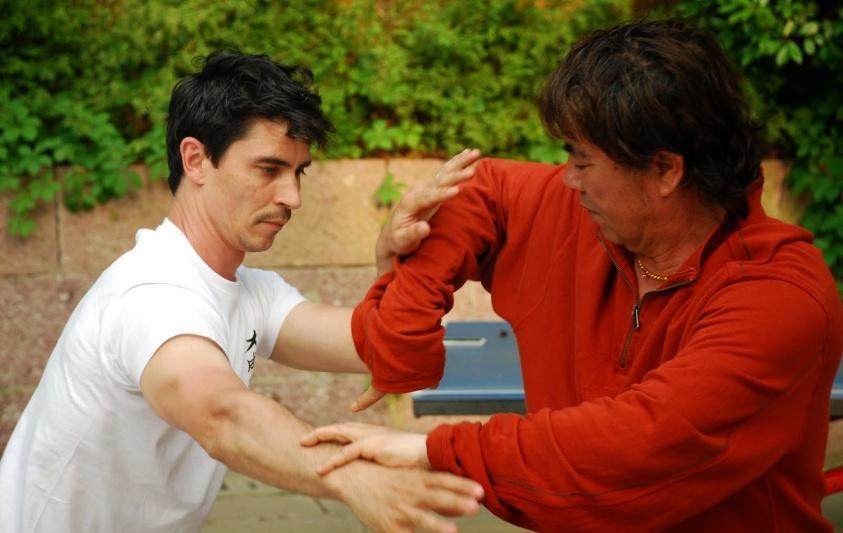 Pratiquer en Chine avec le maître Wang shangwen