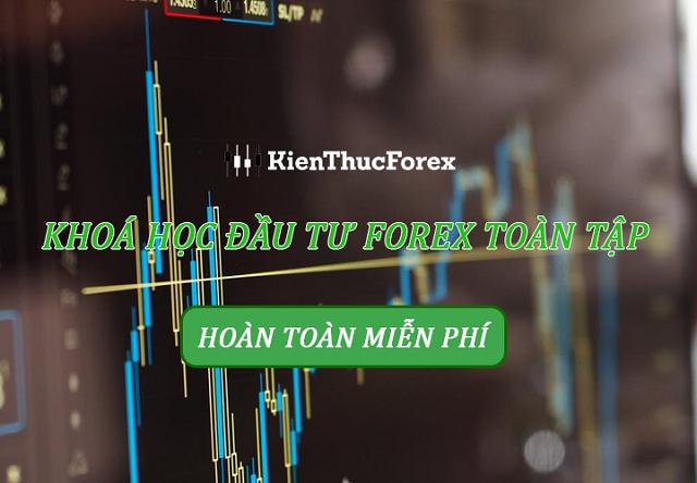Khóa học forex miễn phí tại kienthucforex.com giúp các trader có thể chinh phục được thị trường forex