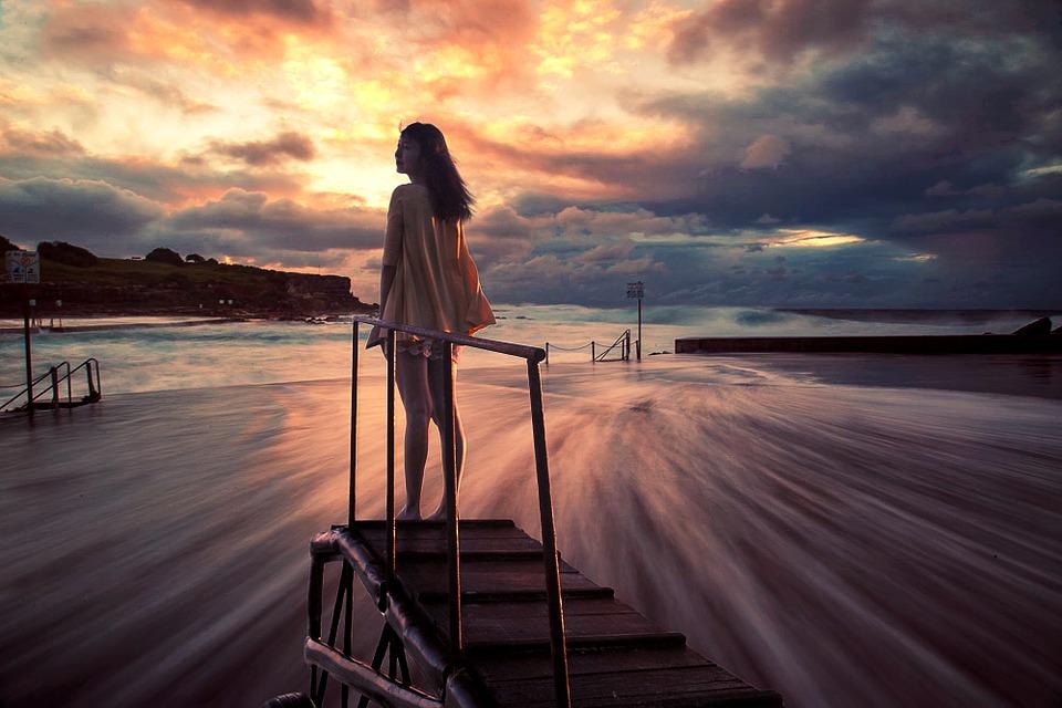 Gratis billede: Piger, Strand, Sunset, Smukke - Gratis billede på ...