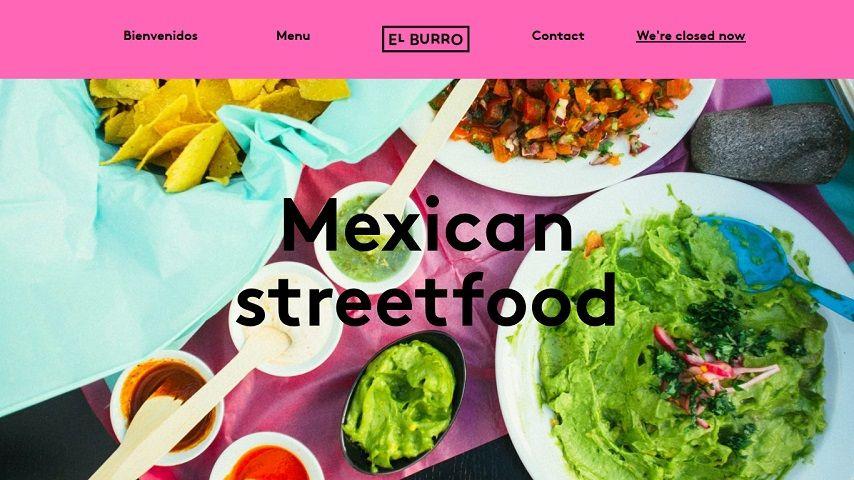 餐廳網站設計