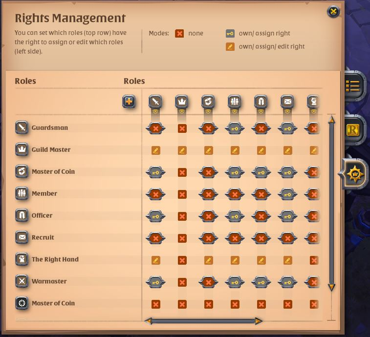 Guild Rights Management - Developers' Statements - Albion