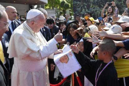Đức Thánh Cha Phanxico khen ngợi các linh mục, tu sĩ, người sống đời tận hiến, chủng sinh, giáo lý viên ở BangkokPope Francis Applauds Priests, Religious, Consecrated, Seminarians, Catechists in Bangkok