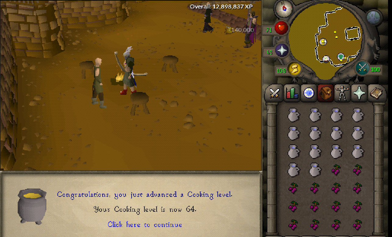 cooking guide osrs