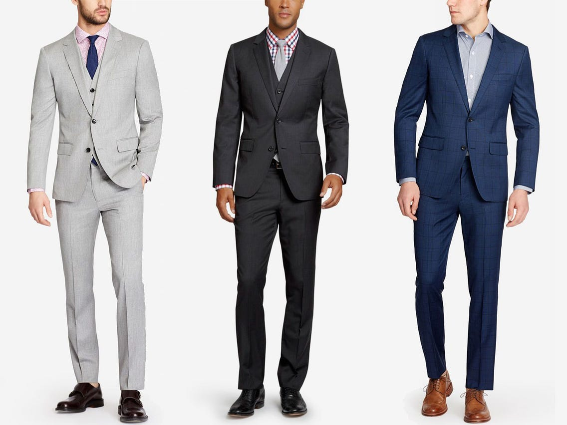 A blue suit should be tried by any gentlemen once