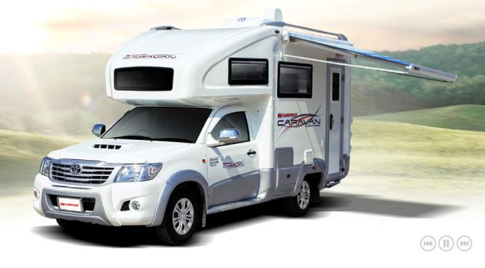 รถบ้านฝืมือคนไทย Carryboy Caravan