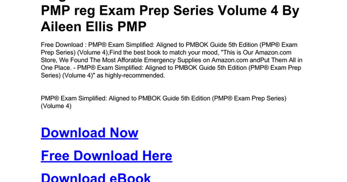 download pmbok 5th edition from pmi
