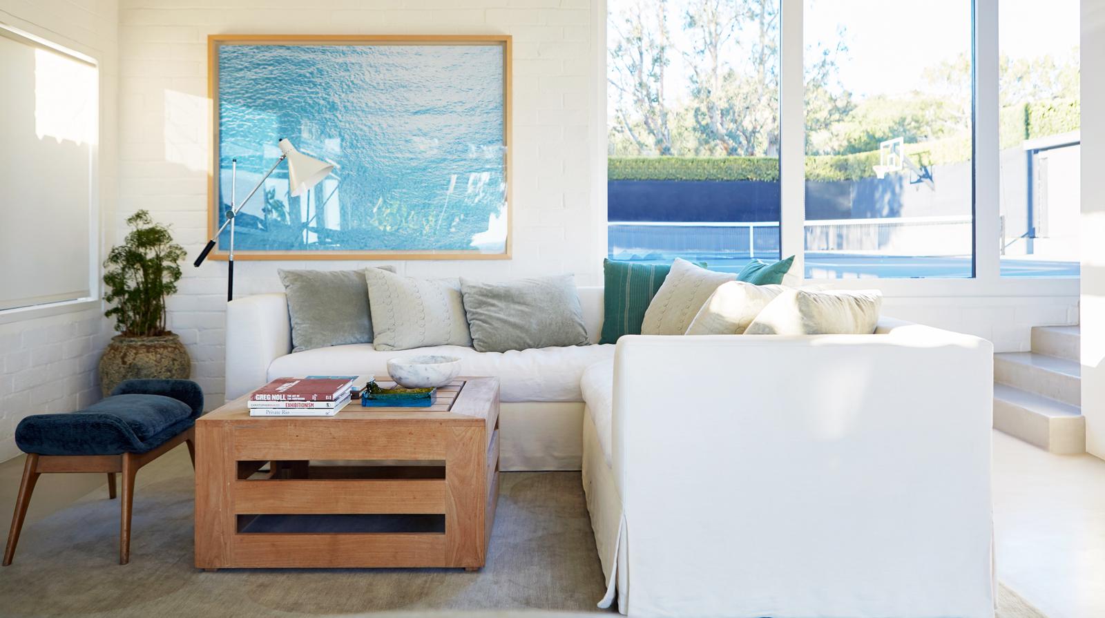 Courteney Cox's home in Malibu
