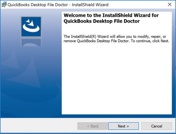 QuickBooks File Doctor Download wizard