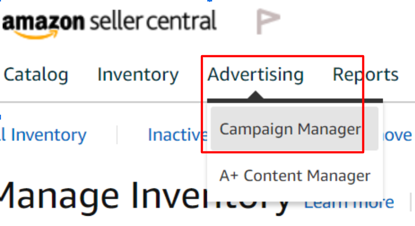 amazon seller central advertising