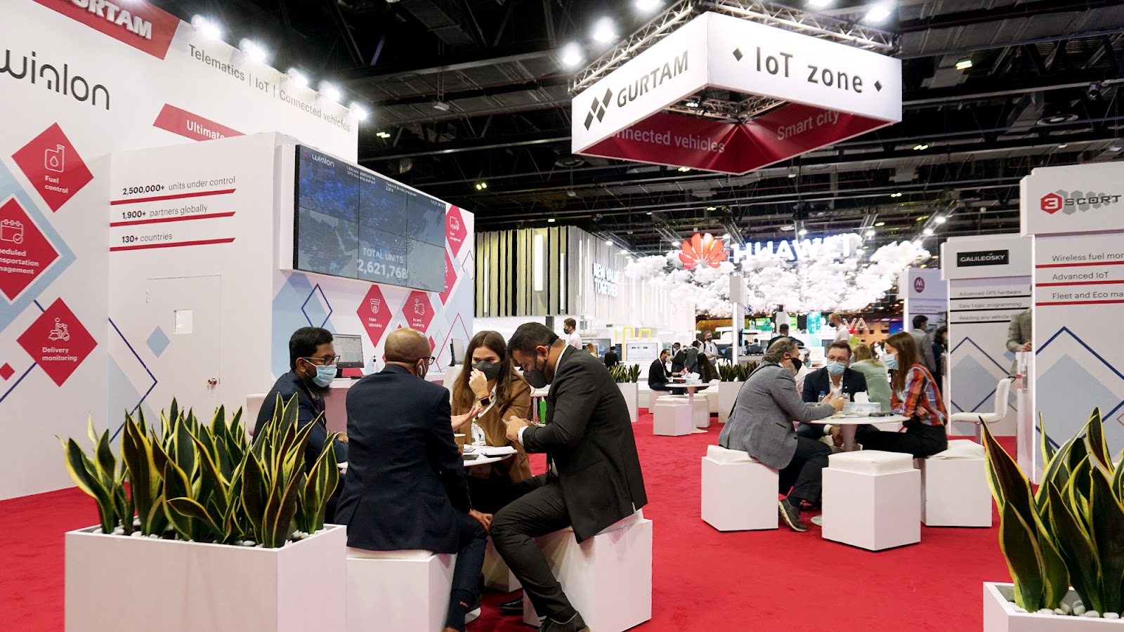 IoT-зона Gurtam на GITEX 2020