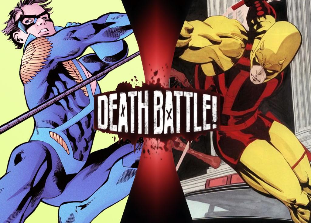 G1 Death Battle Fan Blogs Death Battle Predictions Nightwing Vs Daredevil