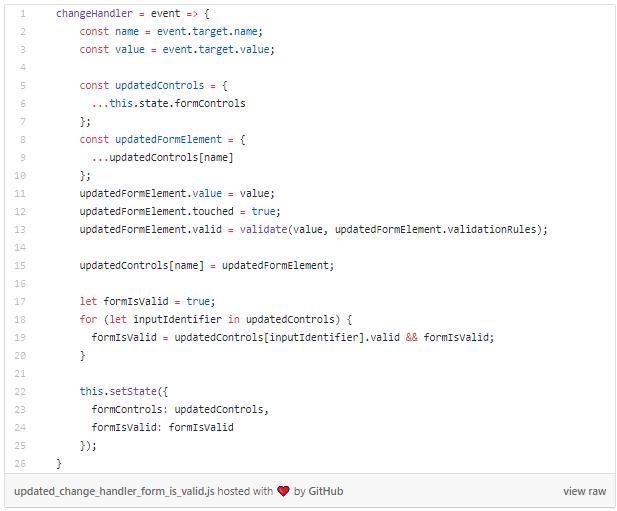 الدليل الكامل للنماذج Forms في React مدونة برمج