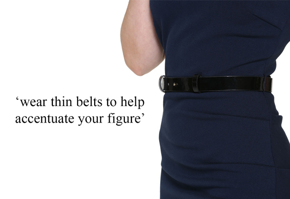 thin belts for petite women not oversized