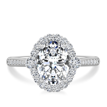 Calla Ethical Diamond Halo Ring