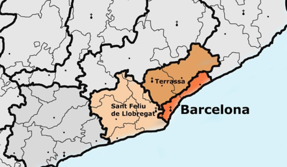 Resultado de imagen de diocesis barcelona terrassa sant feliu