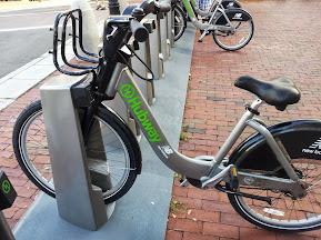 Hubway bike