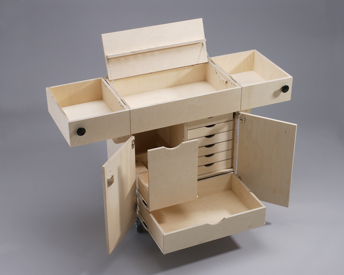 Selbst ist der Mann - Bauplan: Werkstattwagen 01/2004