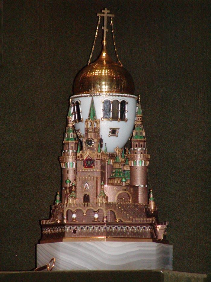 Moscow Kremlin Faberge Egg
