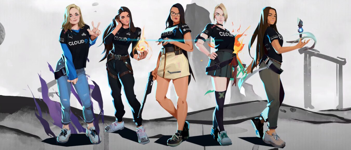 Last year, Cloud9 launched the first ever all-female Valorant roster in the history of the game.