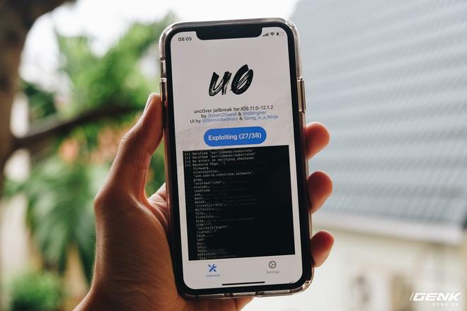 iOS 12 chính thức bị jailbreak, mời tải về công cụ - Ảnh 1.