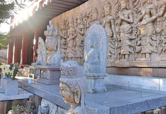 長安寺(神奈川)石仏