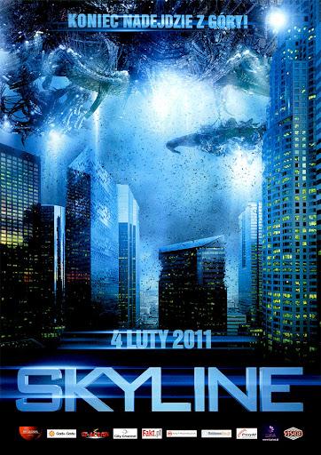 Przód ulotki filmu 'Skyline'