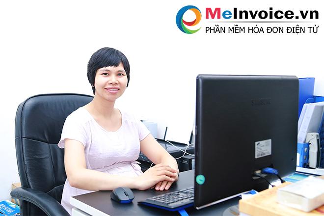 Chị Nguyễn Thị Quy – Kế toán Công ty TNHH Thế giới máy đo đạc