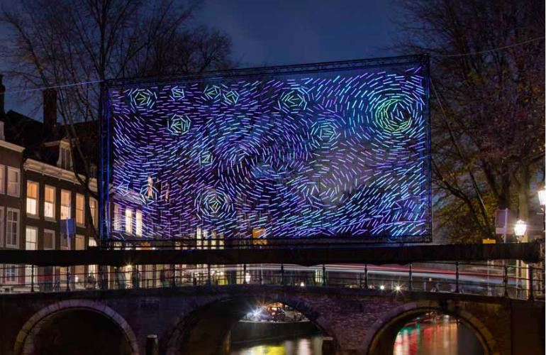 Amsterdam Light festival parking amsterdam festival