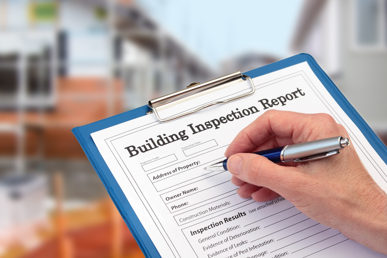 building inspection for building permit