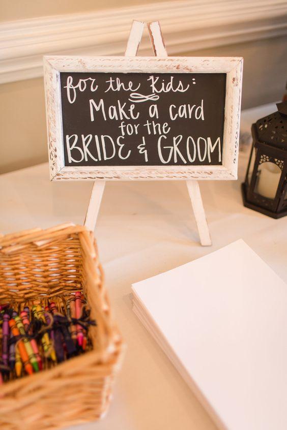 wedding craft for kids