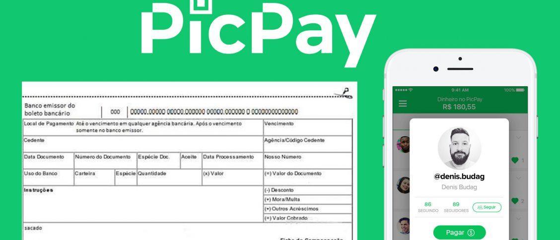 Como pagar boleto com cartão de crédito [sem taxas] usando o PicPay