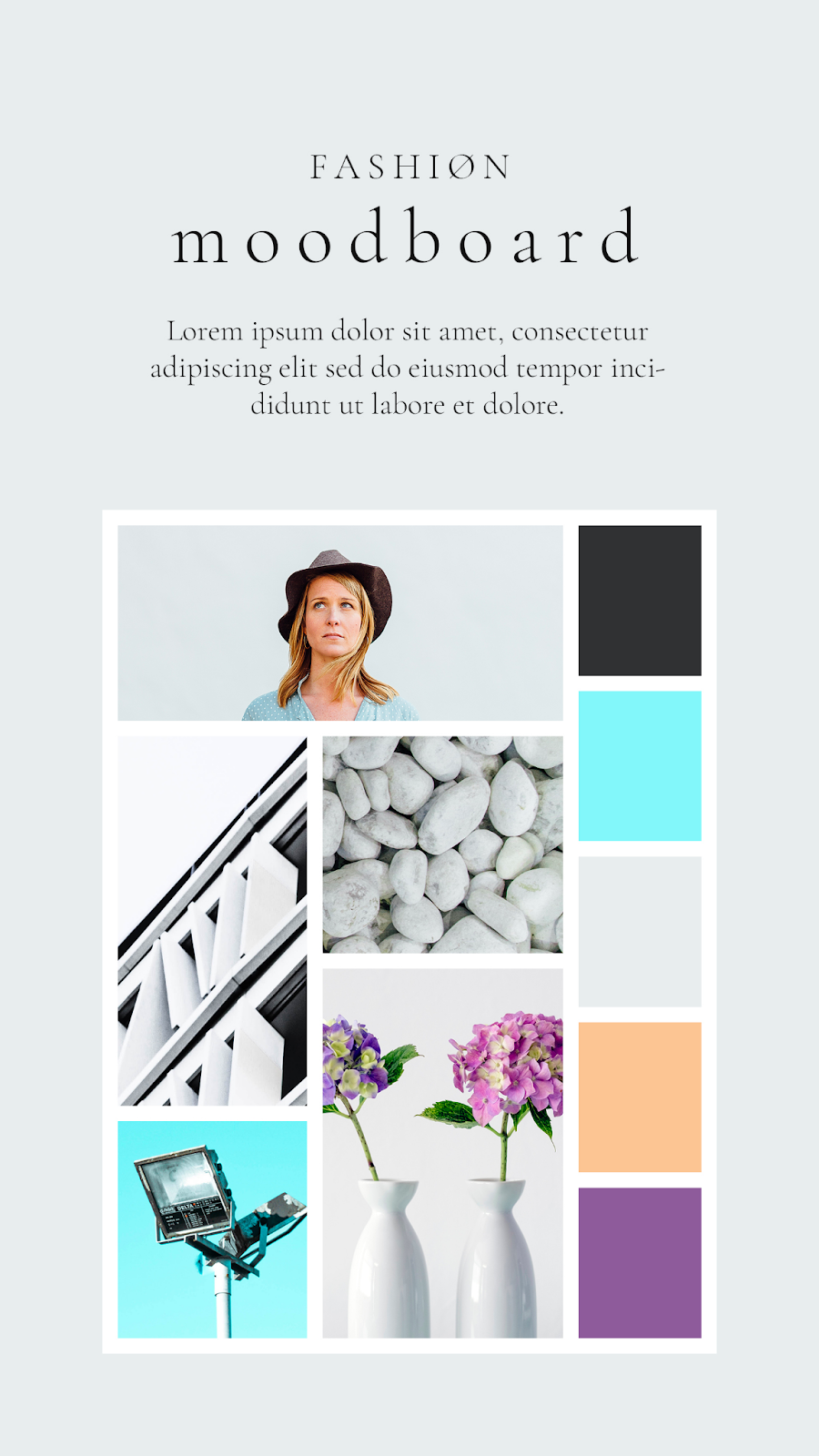 Graphics Eggs Fashion Moodboard Instagram Stories Templates