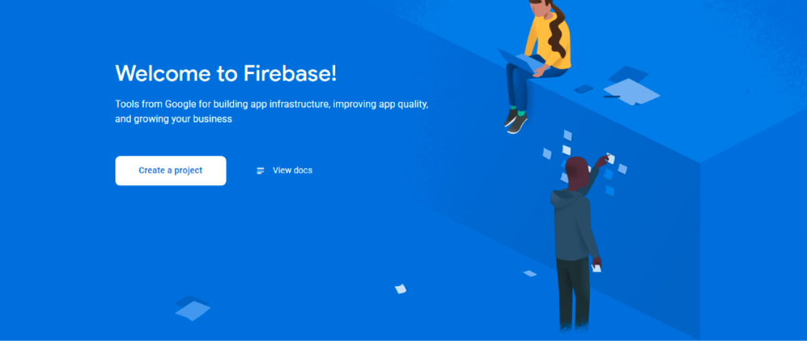 Create a Project in Firebase