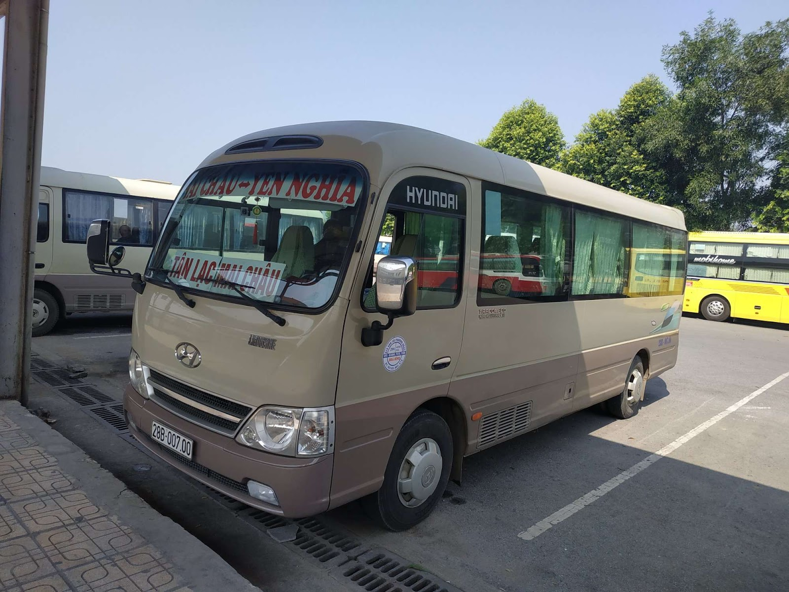 Xe Trung Nghĩa từ Hà Nội đi Mai Châu
