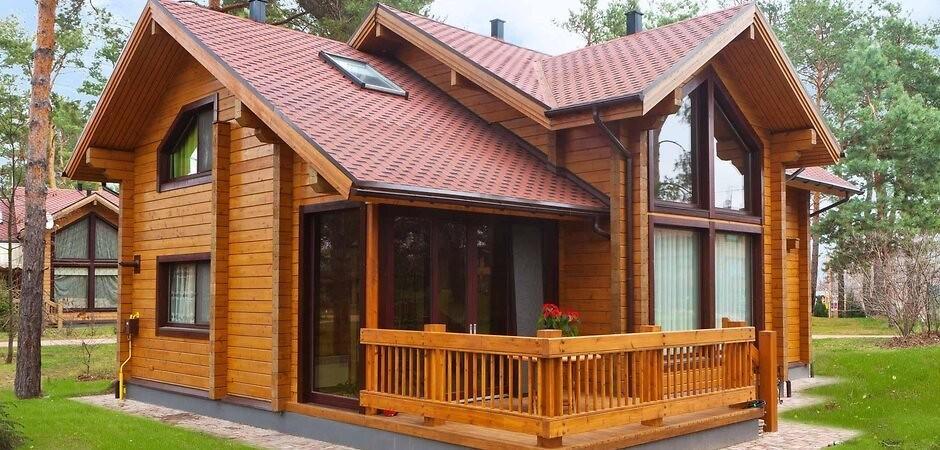 DOM.RIA – Будинок з клеєного бруса: що це, переваги, недоліки та особливості будівництва