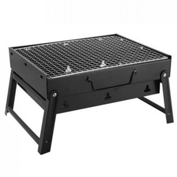 Grills and charcoal
