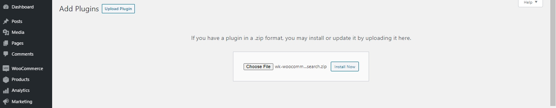 WooCommerce TensorFlow Image Search upload plugin