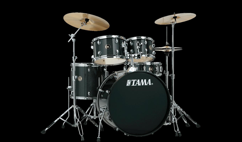 TAMA RM50YH6-CCM Rhythm Mate 5-Piece Drum Kit w/Hardware, Charcoal Mist Bắt đầu trống
