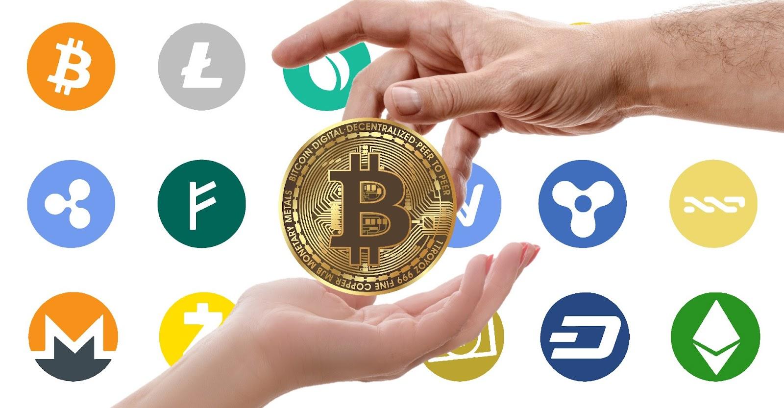 Bitcoin criptomonedas monedero