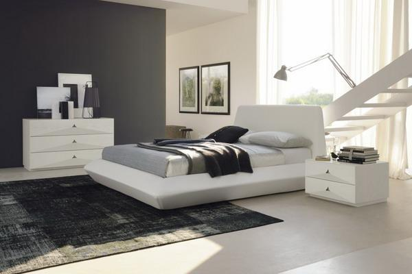 black and white modern bedrooms dosis arquitectura ideas de dise 241 o de dormitorios acogedores 18341