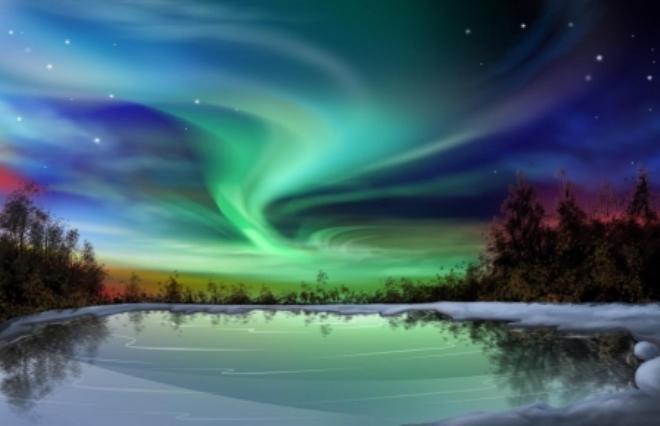 Сезон северного сияния
