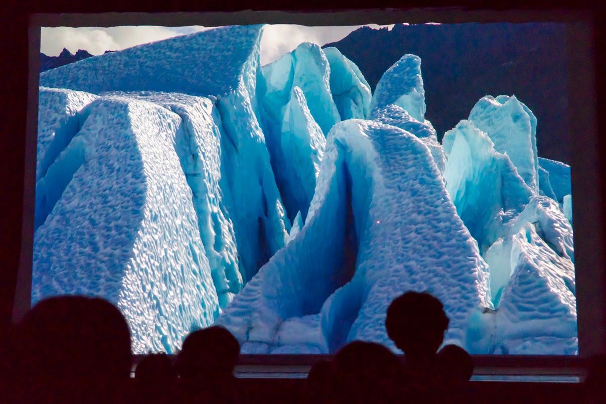 万年雪、氷河