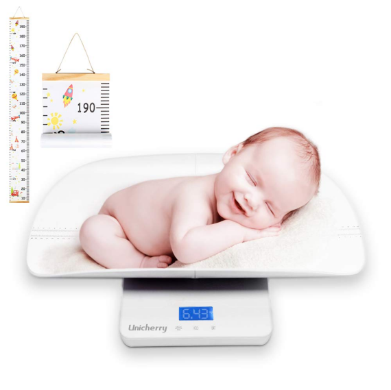 2 in 1 Digital Baby Scale with Free Growth Chart