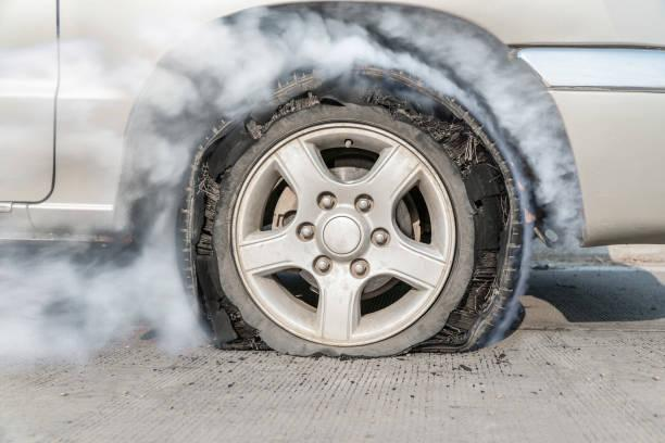 7,504 Flat Tire Stock Photos, Pictures & Royalty-Free Images - iStock