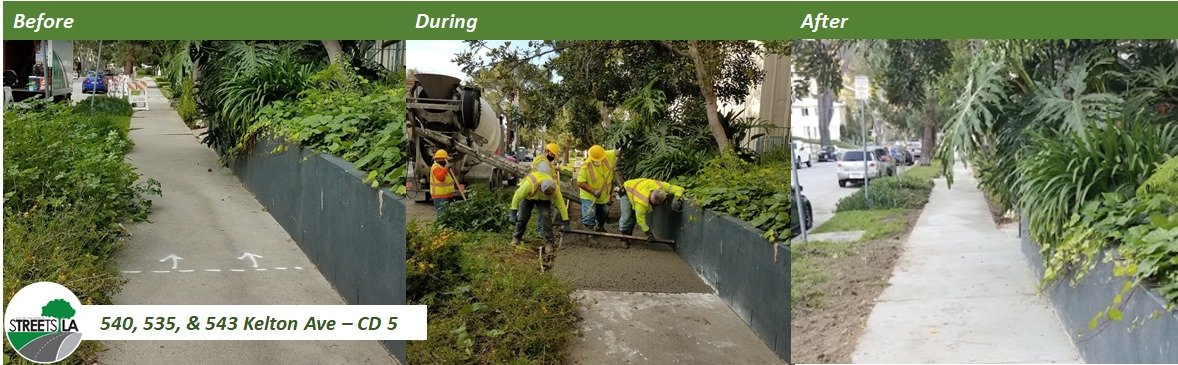 Streets LA Repair Before and After