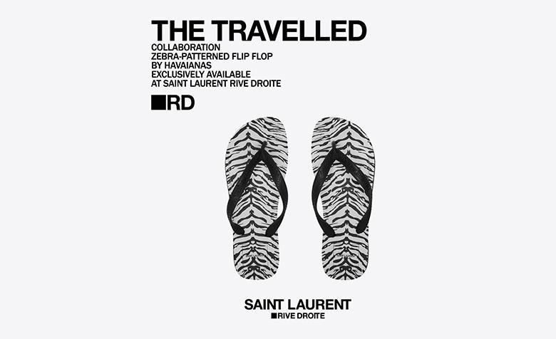 Havaianas x Saint Laurent