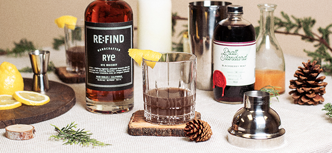 RE:FIND's Exceptional Winter Cocktail